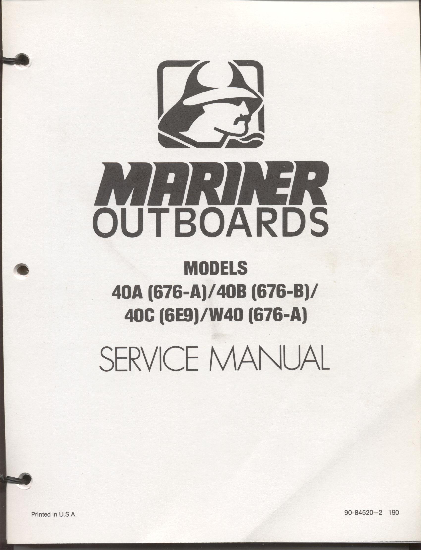 Mariner 15 Hk 2015 Manual